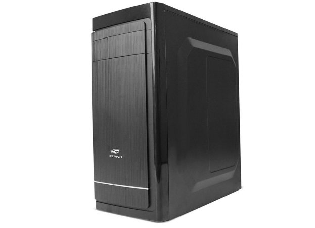 Pc Intel I5-2400, Memória 4Gb Afox, Ssd 240Gb Wd, Mb Bluecase Bmbh61, Gabinete C3Tech Mt-41Bk