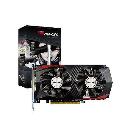 Placa De Vídeo Ddr5 2Gb/128 Bits Afox Gtx750 Ti, Af750Ti-2048D5H5-V7(Ddr5)