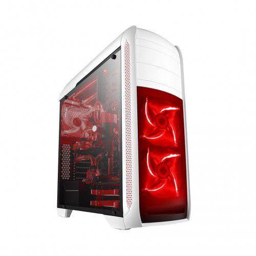 Pc Gamer Amd 3300X, Mem 16Gb Afox, Ssd 240Gb Kingston, Mb Asus Prime B450M, Gab. Bluecase Bg024, Fonte 700W, Vga Rx550