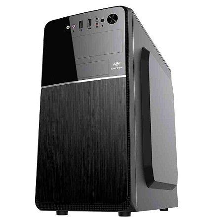Pc Intel I5-2400, Memória 4Gb Afox, Ssd 120Gb Patriot, Mb Bluecase Bmbh61, Gabinete C3Tech Mt-24V2Bk