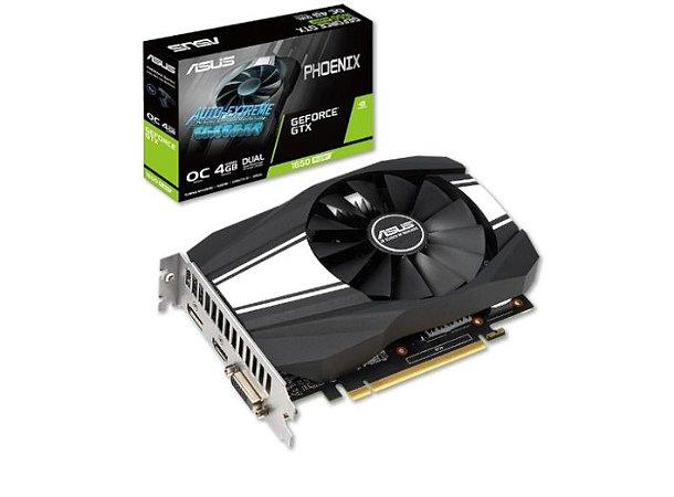 Placa De Vídeo Ddr6 4Gb/128 Bits Asus 1650 Super, Geforce, Ph-Gtx1650S-O4G