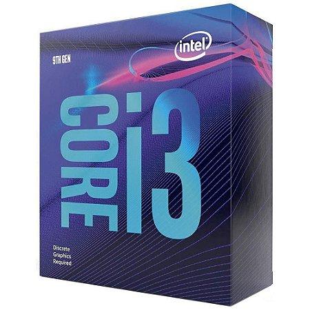 Processador 1151 Intel 9ª Geração Core I3-9100, 3.60 Ghz, 6 Mb Cache, Bx80684I39100, Com Vídeo