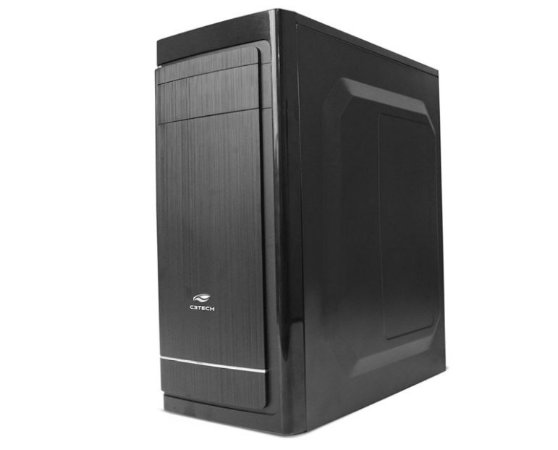 Pc Intel I3-7100, Memória 8Gb Adata, Ssd 120Gb Patriot, Mb Asus H110M-Cs/Br, Gabinete C3Tech Mt-41Bk