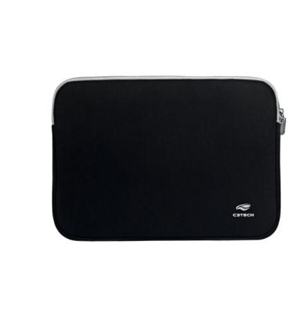 "Capa Sleeve para Notebook Seattle SL-15 15.6"" Preta C3Tech"
