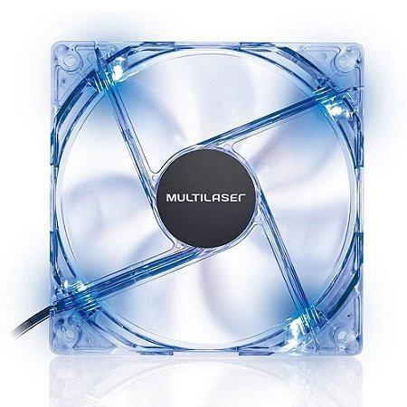 Cooler Fan Azul Multilaser Ga135 12X12Cm