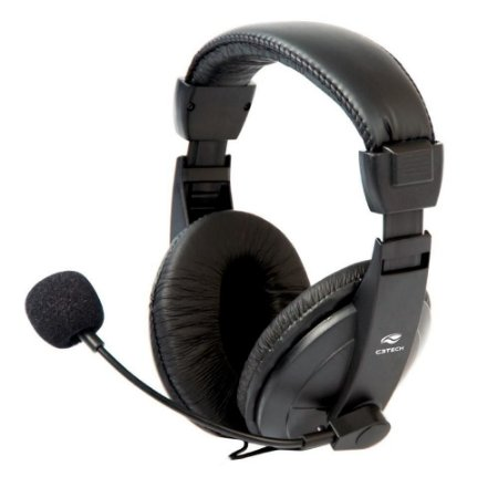 Headset C3Tech Mi-2260Arc Voicer Comfort
