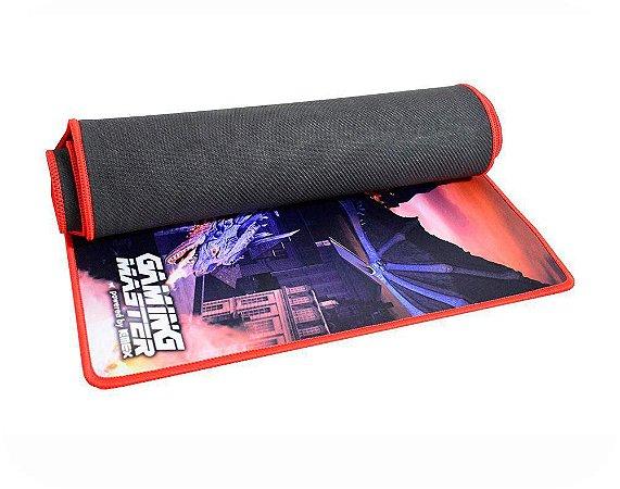 Mousepad Gamer Kmex FX-X8235 Dragon, 80x35 Cm, Borda Costurada