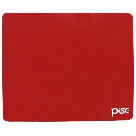 Mousepad Pisc 1834, 18 Cm X 22 Cm, Vermelho
