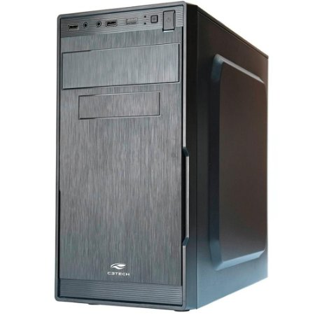 Pc Intel I3-9100, Gigabyte H310M, Ssd 120Gb Patriot, Mem. 4Gb Kingston, Gab. C3Tech Mt23V2Bk