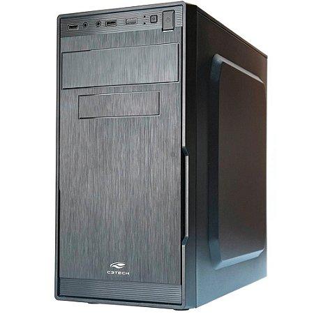 Pc Intel I3-2120, Placa Mãe Afox H61, Ssd 120Gb Kingston, Mem. 4Gb Afox, Gab. C3Tech Mt23V2Bk