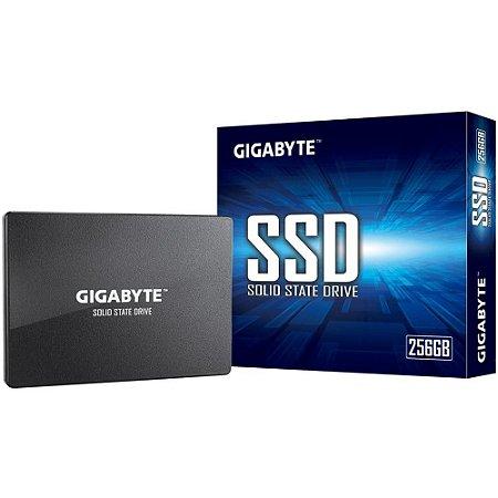 Ssd Sata3 256 Gb Gigabyte, Lê: 520 Mb/S, Grava: 500 Mb/S, Gp-Gstfs31256Gtnd