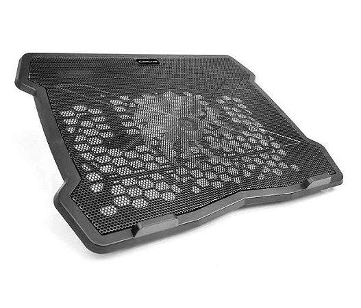 """Base Notebook C3Tech Nbc-01Bk, 15.6"""", Preto, Usb 2.0, Fan 14X14 Cm"""