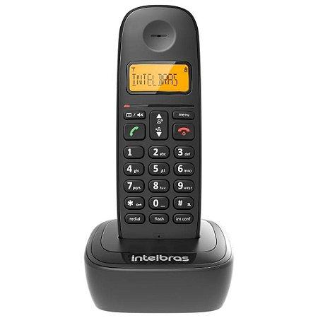 Telefone Intelbras Ts2510 Sem Fio, Com Identificar, Preto