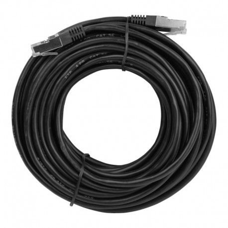 Cabo Rede Cat.6 10 Mts Pluscable Pc-Eth6U100Bk, Patch Cord