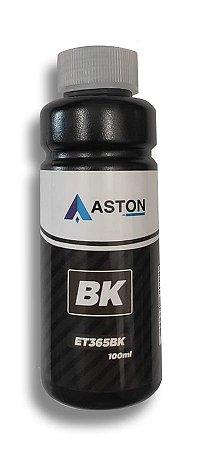 Refil de Tinta Epson Compatível ET365BK Preto Aston 100ML