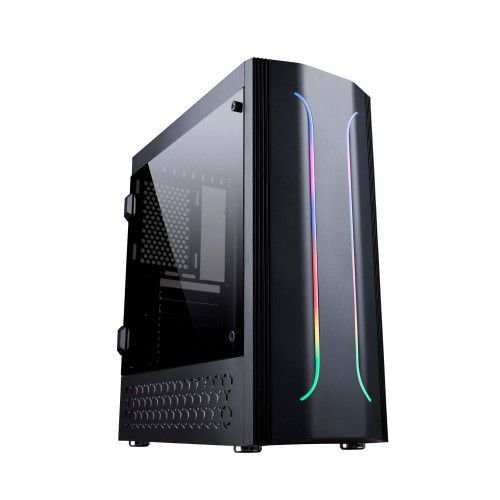 Pc Gamer Amd Ryzen 3600, Asrock A320M-Hd, Ssd 240Gb Kingston, Mem. 8Gb Hyperx, Bluecase Bg011, Fonte 500, Gtx1050Ti