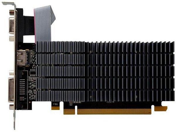 Placa De Vídeo Geforce Ddr3 1Gb/064 Bits Gt 710 Afox, Af710-1024D3L8-V2