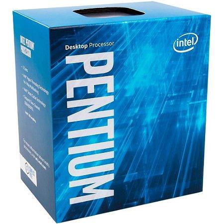 Processador 1151 Intel 7ª Geração Pentium G4560 Kaby Lake, 3.50 Ghz, Cache 3 Mb, Bx80677G4560