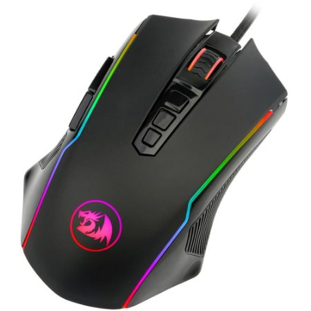 Mouse Gamer Redragon M910-RGB, 12.400 Dpi, Ranger