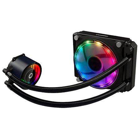 Watercooler Gamemax Ice Chill 120, Rainbow Argb, Liquid Cooler, 1Fan 120 Mm, Com Controladora