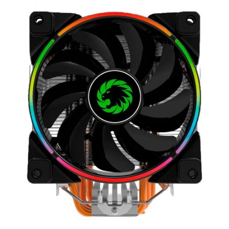 Cooler Universal Para Processador, Intel E Amd, Gamemax Gamma 500, Rgb Controlável, Fan 120Mm, Tdp 187W