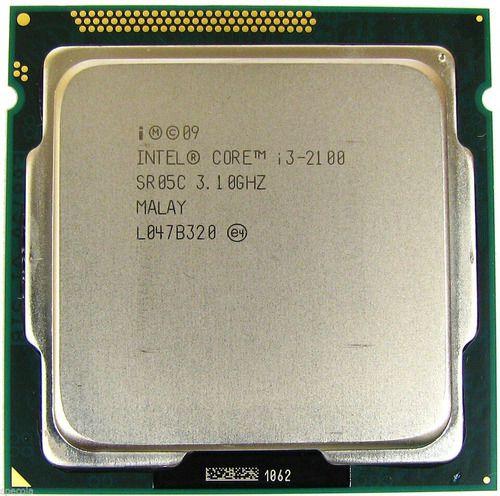 Processador 1155 Intel 2ª Geração Core I3-2100, 3.1 Ghz, 3 Mb Cache, Sem Cooler