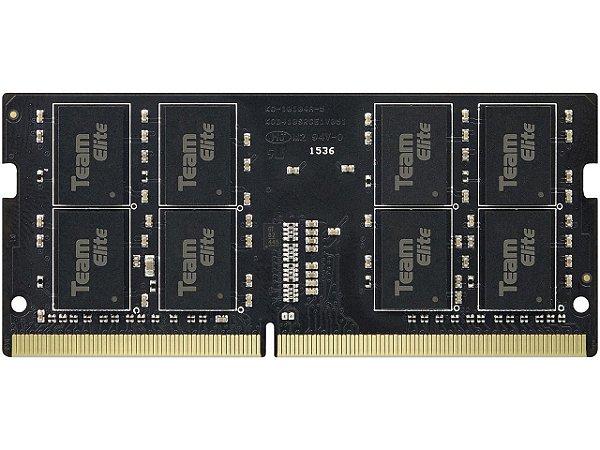 Memória Notebook Ddr4 4Gb/2400 Mhz Team Group, 1.2 V, Ted44G2400C16-S01