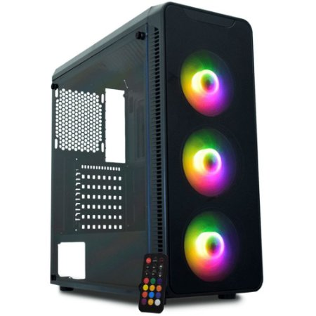 Pc Gamer Intel I5-10400F, Gigabyte H410M, Ssd 480G Kingston, Mem 16G Hyperx, Kmex A1G8, Fonte 650 Corsair, Gtx1660 Super