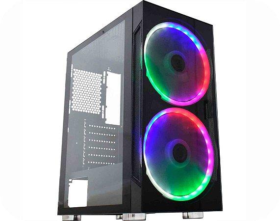 Pc Gamer Intel I3-9100, Asus Tuf B360M, Ssd 240 Gb Kingston, Mem. 16 Gb Corsair, Gabinete Kmex 02A1, Fonte 450 W Corsair