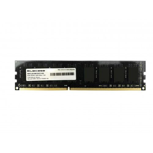 Memória Desktop Ddr3 8Gb/1600 Mhz Bluecase Bmtl3D16M15Ve11/8G, Long-Dimm, 1.5 V