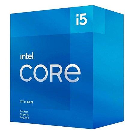 Processador 1200 Intel 11ª Geração Core I5-11400F, 2.60 Ghz, Turbo 4.40 Ghz, Cache 12 Mb, Sem Vídeo Integrado