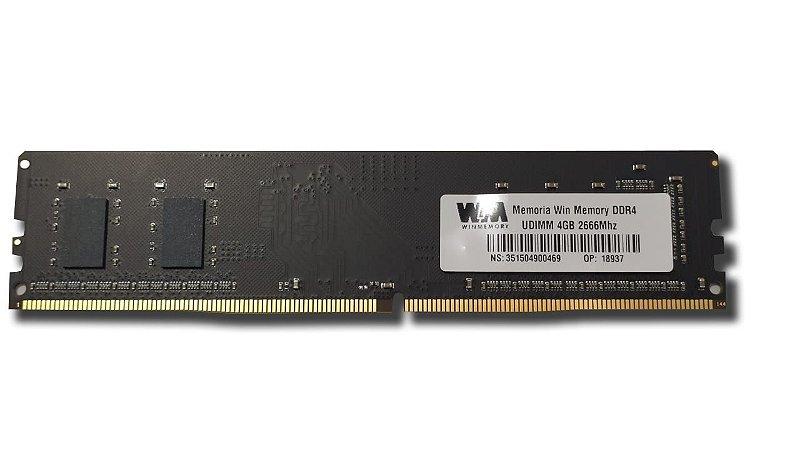 Memória Desktop Ddr4 4Gb/2666 Mhz Winmemory Wh5Sd4G6C4Uaz