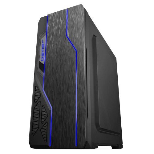 Pc Gamer Amd Ryzen 5600X, Gigabyte A520M H, Ssd Nvme 256Gb Xpg, Mem. 8Gb Xpg, Bluecase Bg009, Fonte 450 Corsair, Gtx1650