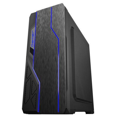 Pc Gamer Intel I3-10100F, Gigabyte H410M H, Ssd 240Gb Kingston, Mem 8Gb Hyperx, Bluecase Bg009, Fonte 550 Corsair, Rx570