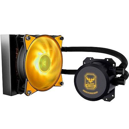 Watercooler Cooler Master Masterliquid Ml120L, Rgb, Tuf Gaming, 1 Fan 12 Cm, Mlw-D12M-A20Pw-Rt