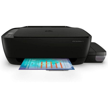 Impressora Multifuncional Hp 416 Jato De Tinta Ecotank Colorida, Wi-Fi, Bivolt