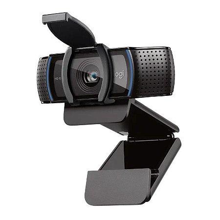 Webcam Logitech C920e, Full Hd, 1080P, 15 Mega, Preta, 960-001360