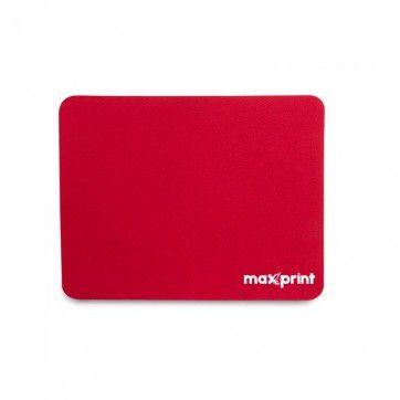 Mousepad Maxprint Padrão, 18 Cm X 22 Cm, Vermelho