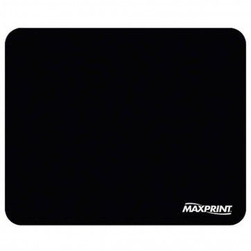 Mousepad Maxprint Padrão, 18 Cm X 22 Cm, Preto