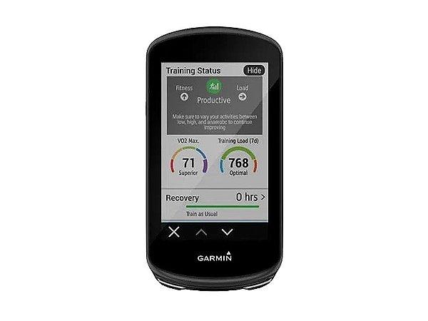CICLO COMPUTADOR C/ GPS GARMIN EDGE 1030 PLUS - PRETO