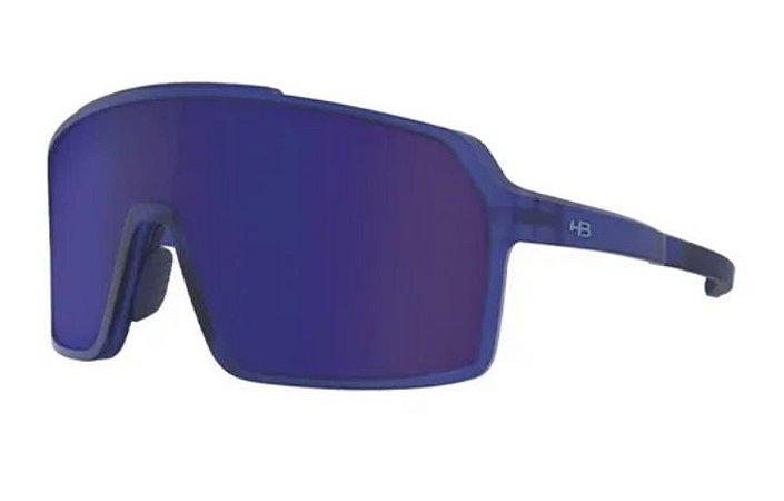 ÓCULOS HB GRINDER 10103860478024 - MATTE CLEAR BLUE/BLUE CHR
