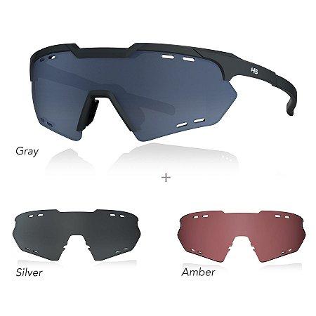 Óculos De Sol HB KIT SHIELD COMPACT ROAD black