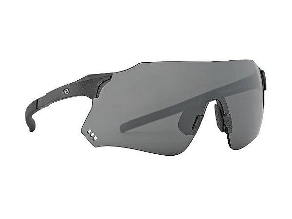 Óculos De Sol HB Quad X Graphite Silver