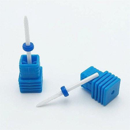 Broca Cerâmica Cutícula Azul COD012