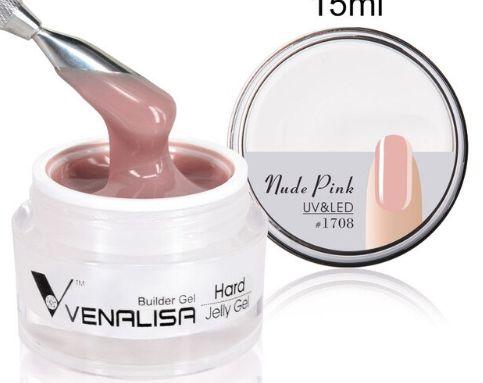 Gel Venalisa Hard Gel Uv Led 30ml Nude Pink