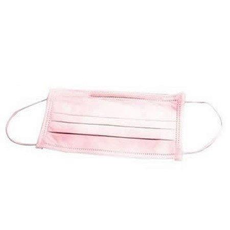 Mascara Descartável 10 unidades rosa