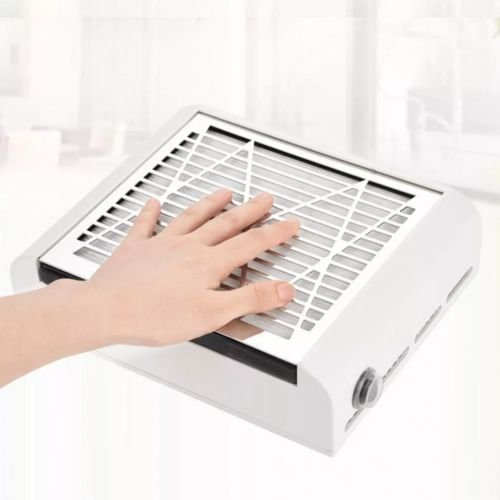 Coletor De Pó Aspirador Sugador Cooler Profissional Bivolt Branco