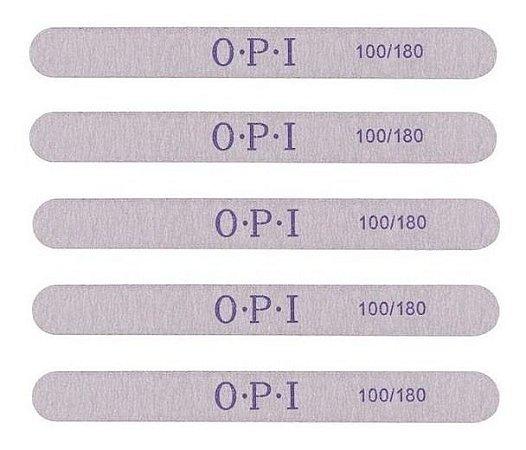 50 Lixas Reta O.P.I 100/180