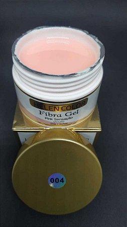 Gel Helen Color Fiber Pink Sensação 20g Uvled Unha Gel Fibra