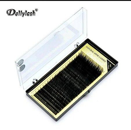 Cílios Dollylash Curvatura D Mix 0,10C